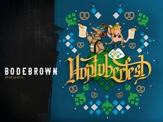 Cerveja Hoptoberfest, estilo Oktoberfest/Marzen, produzida por Cervejaria Bodebrown, Brasil. 5.2% ABV de álcool.