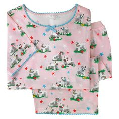 Girls jersey pj set Star Dog | Cath Kidston | Cath Kidston Baby, Cath Kidston Shop, Back To School Outfits, Pj Sets, Traditional Outfits, Pjs, Floral Tops, Sealyham Terrier, Girl Outfits