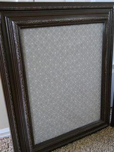 framed magnet boards--great for photos
