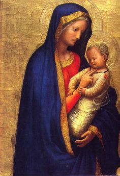 "Masaccio ""Madonna Casini (Madonna del solletico)"", 1426-27"