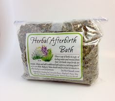 Herbal Afterbirth Bath - In His Hands Birth Supply