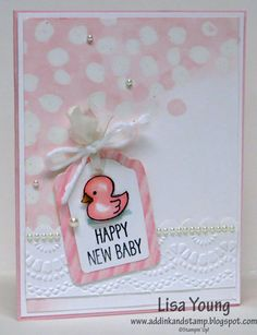 New Baby Girl by genesis - Cards and Paper Crafts at Splitcoaststampers