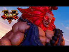 Street Fighter V - Character Introduction Series - Akuma - http://gamesitereviews.com/street-fighter-v-character-introduction-series-akuma/