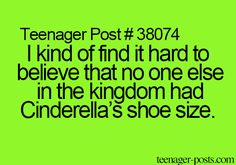 Exactly!!! Thats pretty much impossible (even though one of the U.S. presidents had a size fourteen and George Washington only had size 13... for shoes)