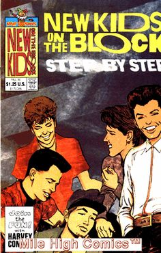 NEW KIDS ON THE BLOCK STEP BY STEP (1990 Series) I still have several NKOTB comic books from back then.