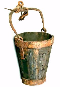 Ancient Roman bucket. Art / Ideas / Artist / Thoughts More At FOSTERGINGER @ Pinterest