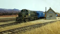 Mike Confalone's Allagash Railway - Railfan Images from New Sharon | Model Railroad Hobbyist magazine | Having fun with model trains | Instant access to model railway resources without barriers