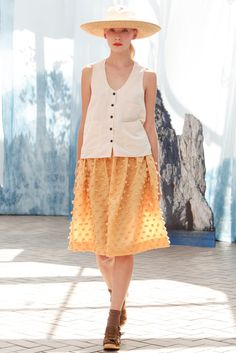Creatures of Comfort Spring 2014 Ready-to-Wear Fashion Show Collection