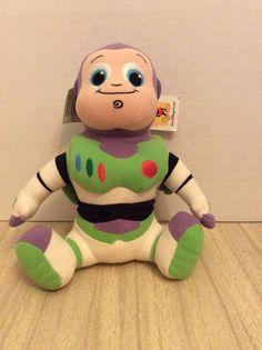Disney Baby Buzz Light-Year Beanbag 9 Inch Stuffed Animal #Disney