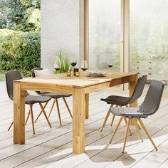 Gartentisch aus Akazie ca. 180x90cm 'Henry' online kaufen ➤ mömax Outdoor Furniture Sets, Outdoor Decor, Dining Table, Home Decor, Products, New Furniture, Types Of Wood, Garden Furniture Sets, Dinning Table