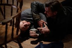 Ep. 8 A Boy and His Dog (Bates Motel) Pic 5 / 9 Remo winds up and sucker-punches Dylan in the face, and the two fall drunkenly to the floor. (And punch each other basically. I think the person looking after the pics for a & e was off because most of this episode had stills from the fight - when there was so much more going on.) AETV.com