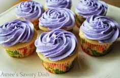 Lavender Earl Grey Teacake Cupcakes (From Georgetown Cupcake!)