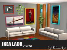 LACK Extra - Basegame Painting Frames - LeeFish