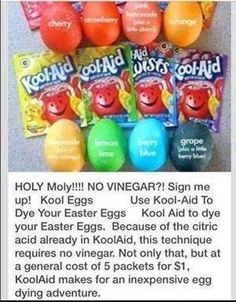 Easter craft - curious to try this to see if it really works.