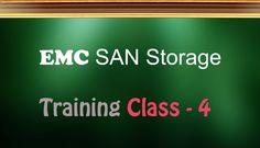 SAN Training(EMC Storage) - http://www.vidhyalive.com/product/san-training/