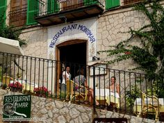 Montimar - Estellencs - One of the best restaurants on the island. A secret. Guillem makes a fabulous roast suckling pig and other typical #mallorquin dishes