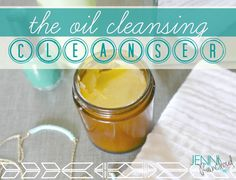 The Oil Cleansing Method Cleanser-The famous Eve Lom cleanser is $100 and contains mineral oil!  Make your own that is actually good for your skin!