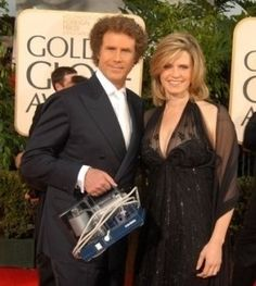 Will Ferrell carries his wife's breast pump at the 2007 Golden Globes