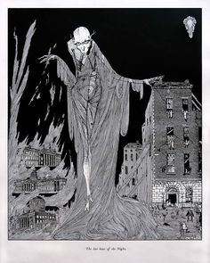 The Last Hour of the Night - Harry Clarke