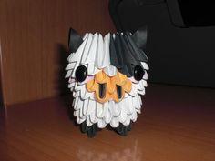 Cow Origami 3D by PattReah.deviantart.com on @deviantART