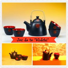 """SET DE TE """"HIDCHI"""" Set de te de ceràmica amb tetera i quatre bols a joc. Preu: 32,50 €. Troba'l a: http://teteriaonline.cat/JOC-DE-TE-HIDCHI"""