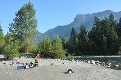 Sucker's Creek at the Coquihalla River in Hope, BC. A great, secluded area to enjoy a swim. www.HopeBC.ca