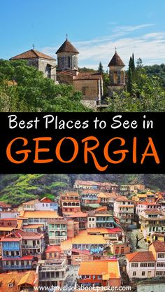 Planning a trip to the Caucasus? Read about the best places to visit in Georgia! With sugestions to create your own Georgia itinerary for one, two or three weeks. A guide to the best places to visit in Georgia // Georgia travel itinerary // best places to see in Georgia // #georgia #caucasus #travelitineraries