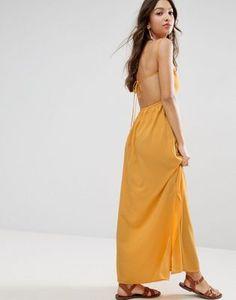 ASOS Tie Back Maxi Dress
