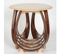 This piece of furniture is a piece of art!  Oceana end table by paulus on Etsy