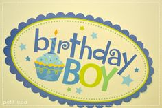 Petit Festa: First Birthday Boy!