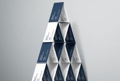 Business cards / House of cards mockup