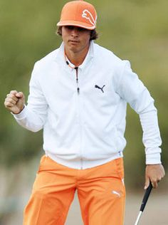 Ricky Fowler is by far the best dressed dude in golf. And cute for a youngin'