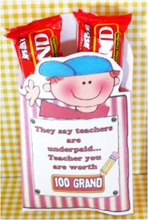 Great way to show appreciation for your teacher! Homemade teacher gifts for FREE