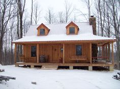 Rustic Cabin- Front View