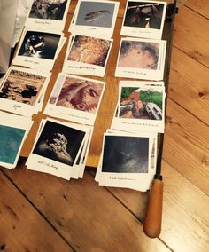 There are about 250 Fake Polaroids, all photos were mocked up, printed and cut out for the game elements at Escape Room Bournemouth