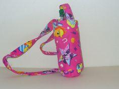 Water bottle holder  pink My Little Pony  kid size across