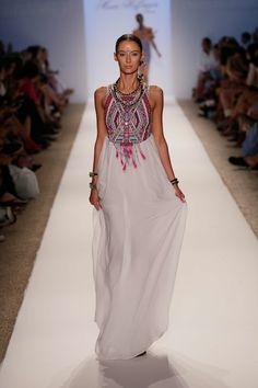 Mara Hoffman, Embroidered Maxi Dress