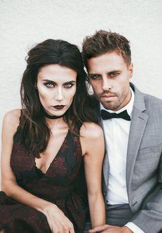 Couples Vampire Makeup