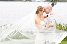 Mary Fields Photography, Dallas wedding photographer, outdoor bride and groom wedding pictures, lace wedding dress, gray groom tuxedo, cathedral length veil  View More: http://maryfieldsphotography.pass.us/oyler-wedding-9-13-14