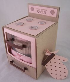 cupcake boxes that look like an oven - Google Search