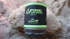 Kovea EZ-Eco Alpine Pot Review by Hikin' Jim - http://sectionhiker.com/kovea-ez-eco-alpine-pot-and-stove-review/
