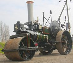 Steam Engines For Sale | ... ton compound slide valve steam roller . : Click image for fullsize
