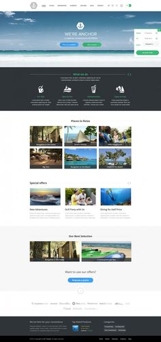 ANCHOR - #WORDPRESS-THEME FOR #CAMPSITES Your new amazing accommodation website. Campsite WordPress Theme is specially developed and designed for accommodation providers, Campsites, Campings, Hotel, Bed&Breakfast, Guest house, Inns, Apartments or Hostel. Sell your available places through your website. Camping booking plugin with availability will serve your website visitors perfectly. Anchor WordPress theme converts visitors to customers.