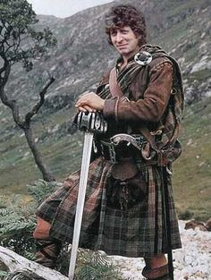david tennant in a kilt | maybe this isn t sexy but it s cute tom baker in a kilt