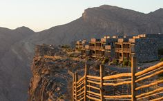 Thrill-seeking hikers will cross a suspended wire bridge and attempt a vertical climb in the Al Hajarmountains.