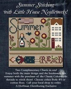 Summer Stitching-Cotton Thread Pack (w/free graph)