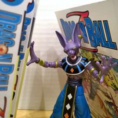 Stop reading and help me!!! #dragonballz #beerus #figuarts #revoltech #manga