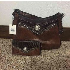 Nwt Rustic Couture Handbag And Wallet Set This Is A Really Cute