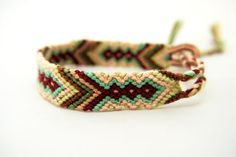 Handwoven Thin Micro Macrame Friendship Bracelet by PerfectImp
