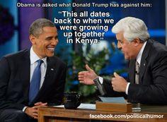 Funniest Donald Trump Memes: Obama on Donald Trump
